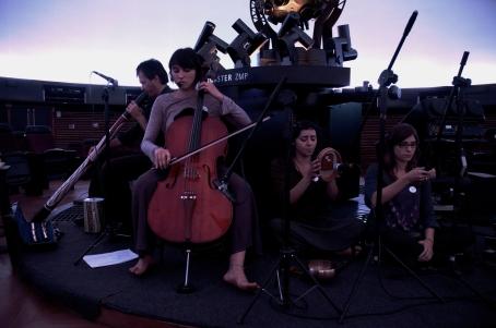 Arca Sideral, com a Cia 3 de Canto Contemporâneo